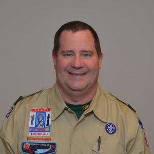 Adult Leader Rob Tucker