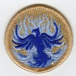 Pathch-blue-phoenix